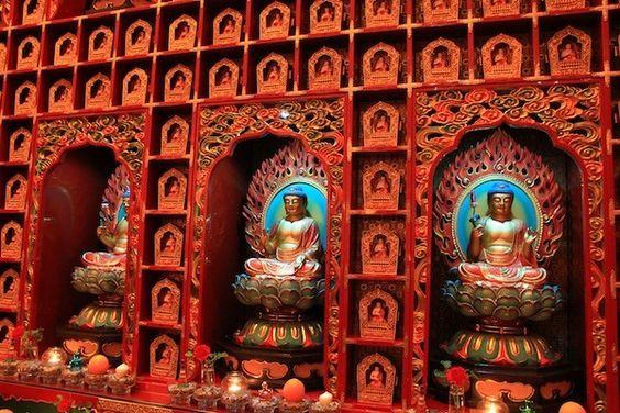 Chùa Răng Phật là nơi thanh tịnh