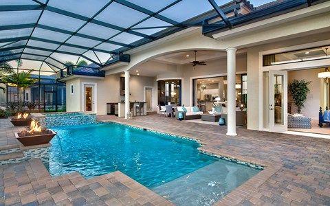 Muirfield Iv Floor Plans Wildblue Stock Family Of Companies Indoor Outdoor Pool Pool Houses Indoor Swimming Pool Design