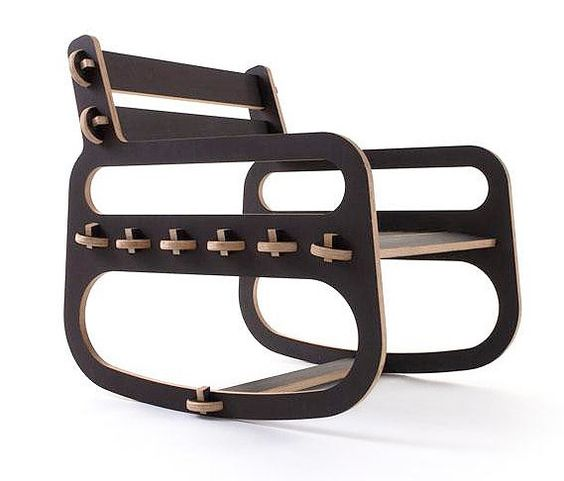 Rocking Chair easy chair: