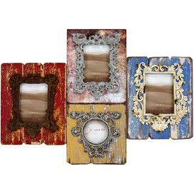 Chelsea Picture Frame Wall Cluster... something like this for my cat hook