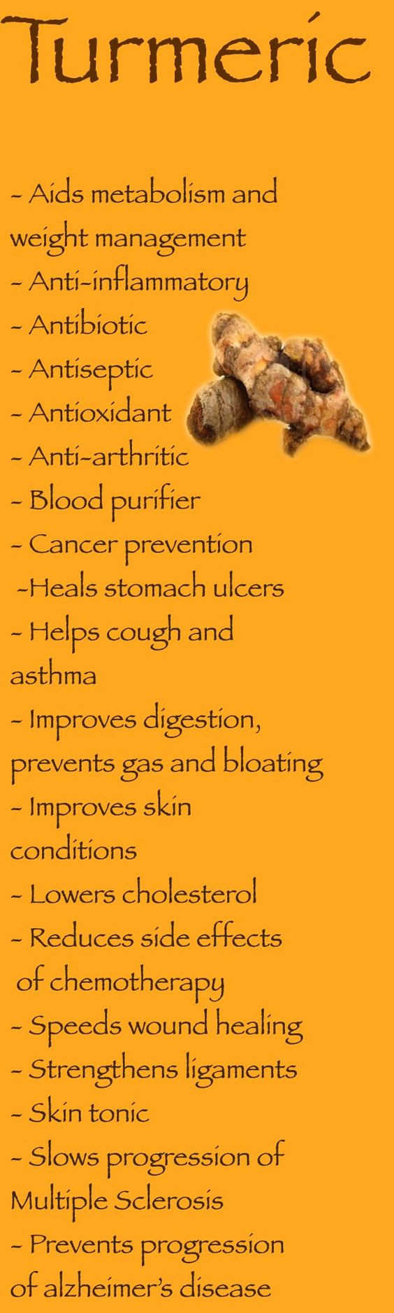 Health Benefits of Turmeric: