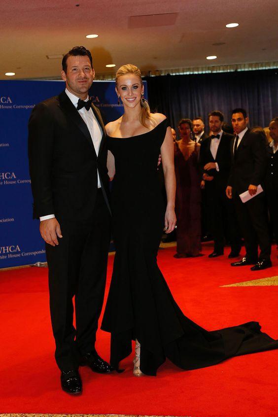 Candice Crawford y Tony Romo