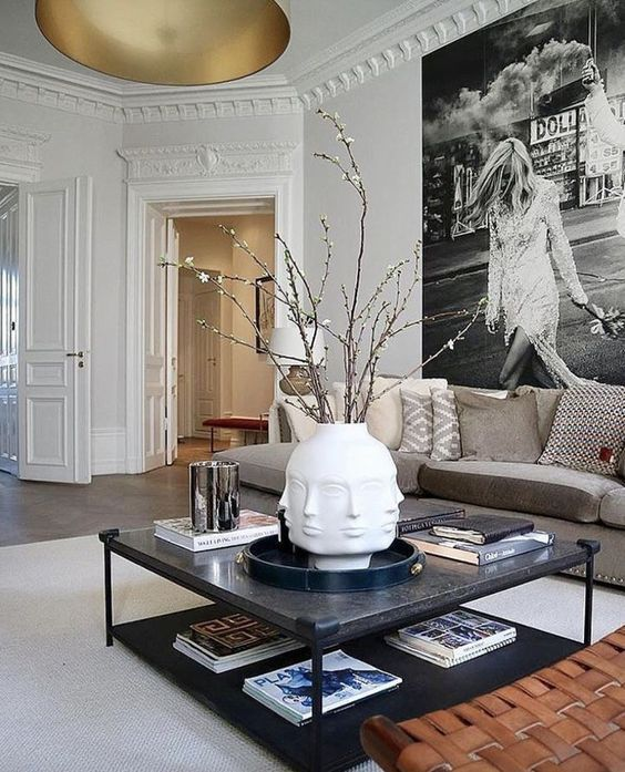 8 Artsy Spaces You Will Be Smitten With Daily Dream Decor Artsy Daily Decor Dream Smi Contemporary Living Room Design Living Room Designs Living Decor
