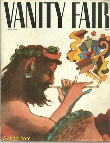 First cover of Vanity Fair. . . check out that art!!!