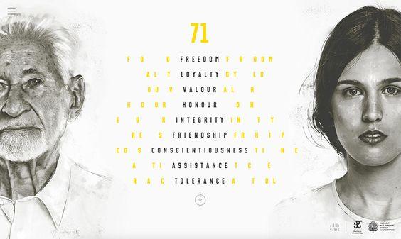Webdesign: 71 st Warsaw Rising Anniversary