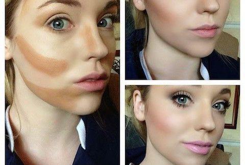 'Countouring': entre el maquillaje y la ilusión optica