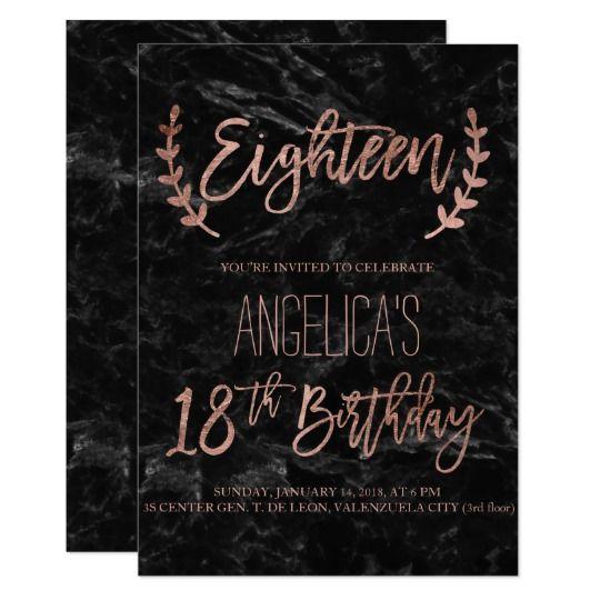 18th birthday invites birthday invitations