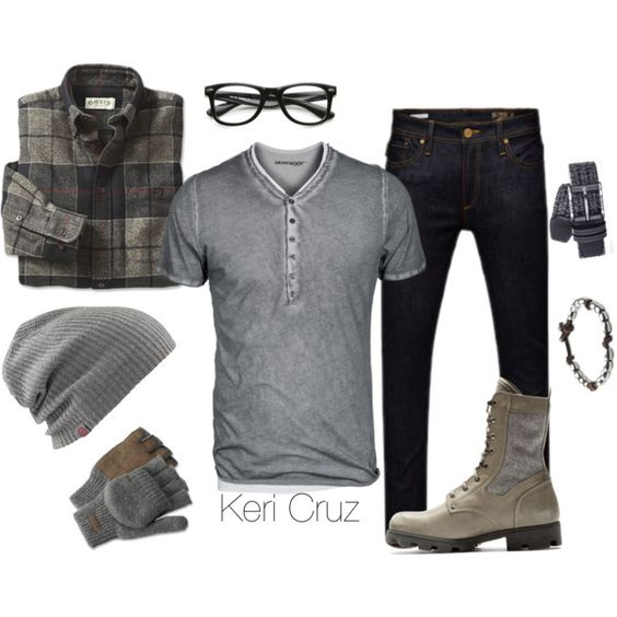 """Rugged Winter"" by keri-cruz on Polyvore"