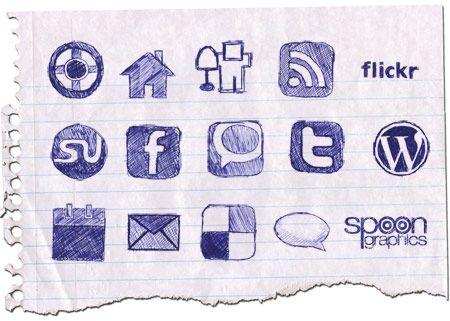 20 Free Social Media Icon Sets
