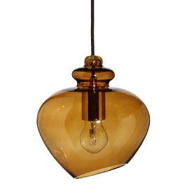 heals grace amber glass pendant amber pendant lighting