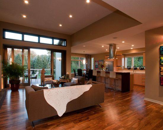 Amazing One Storey House Designs With Modern Interior: Spacious Open Floor  Plan Aspen Lake House Interior | Home Decor | Pinterest | Open Floor, ...