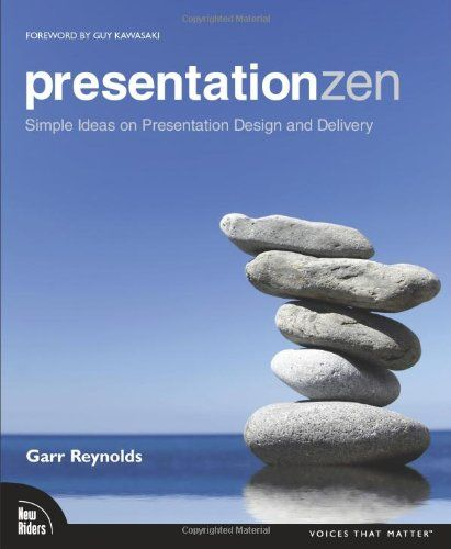 Presentation Zen: Simple Ideas on Presentation Design and Delivery. This is THE BEST BOOK I have read on presenting. For anyone who ever works with PowerPoint it is a must-read.