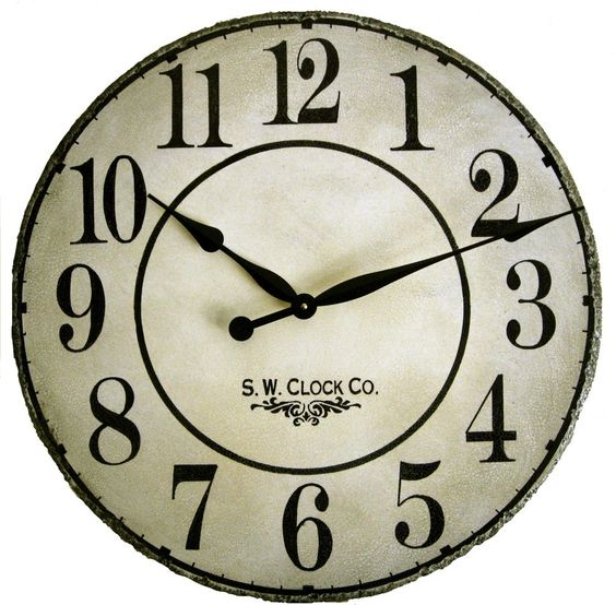 30 inch French Gallery Wall Clock