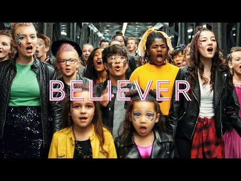 Imagine Dragons Believer Thunder By One Voice Children S Choir Youtube Musica Ingles Musica Musicas Incriveis
