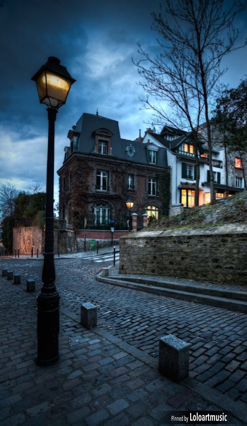 Monmartre by night ~ Paris, France