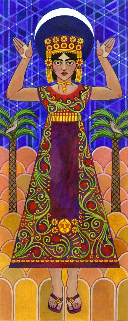 Tanit, the Carthaginian Great Goddess