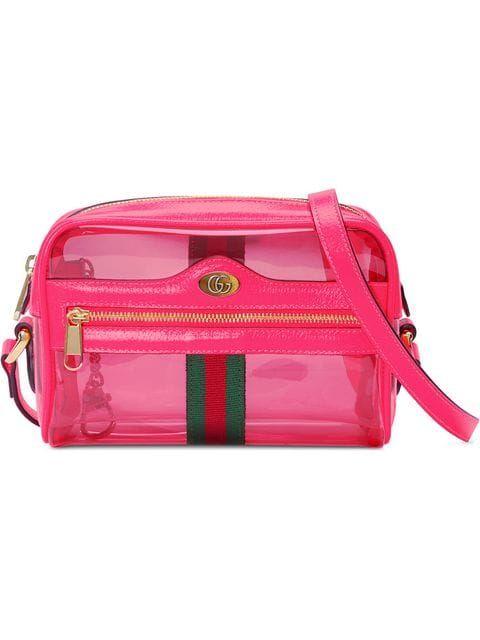 Gucci Ophidia Mini Transparent Bag Farfetch Gucci Crossbody