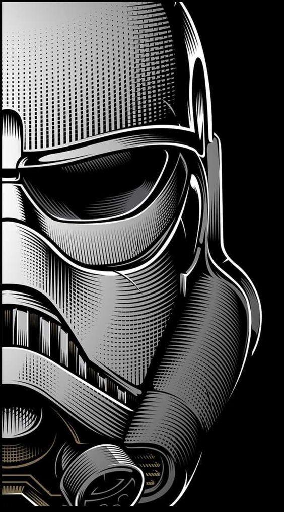 Fondos De Pantalla De Star Wars Para Celular 4k Y Hd Wallpapers Star Wars Darth Vader Stormtroop Star Wars Painting Star Wars Artwork Star Wars Wallpaper