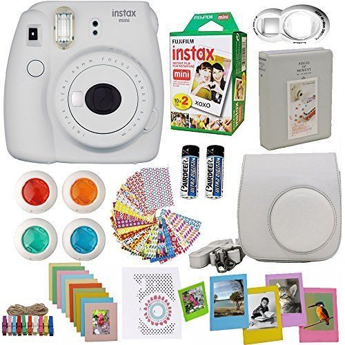Amazon Com Fujifilm Instax Mini 9 Camera And Accessories Bundle