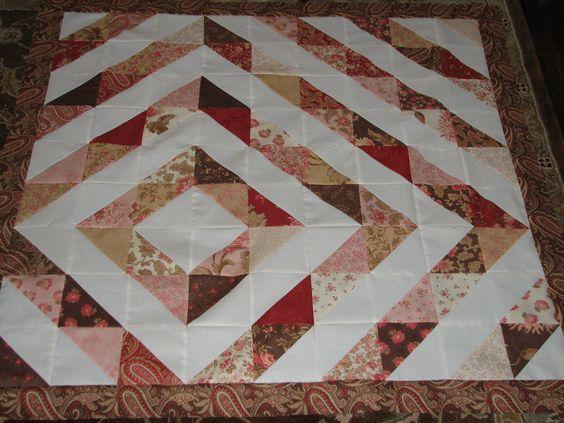 Frame baby quilt