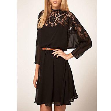 Vestido de encaje Negro – EUR € 12.37