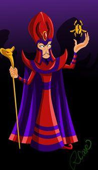 Jafar as Magneto (X-men) by racookie3