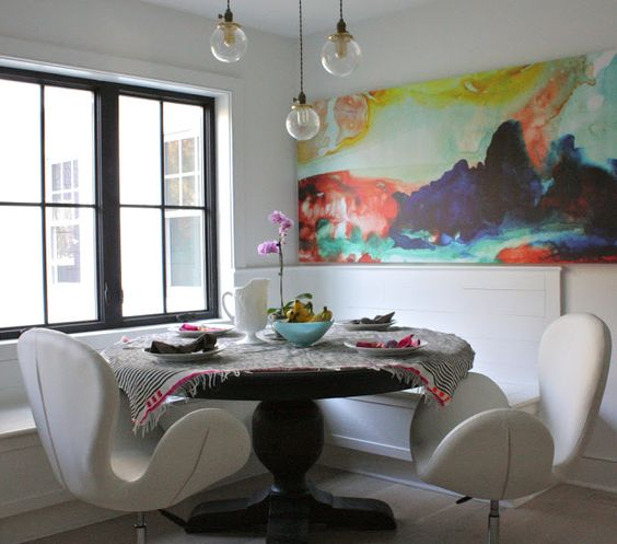 Look Linger Love: Gorgeous Banquette