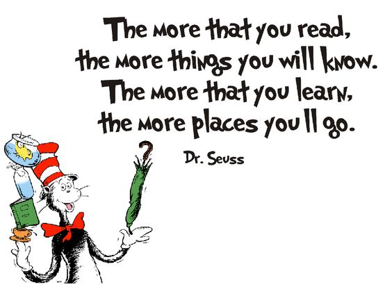 Reading can take you anywhere! Shows that reading is fun and and helps you learn at the same time!