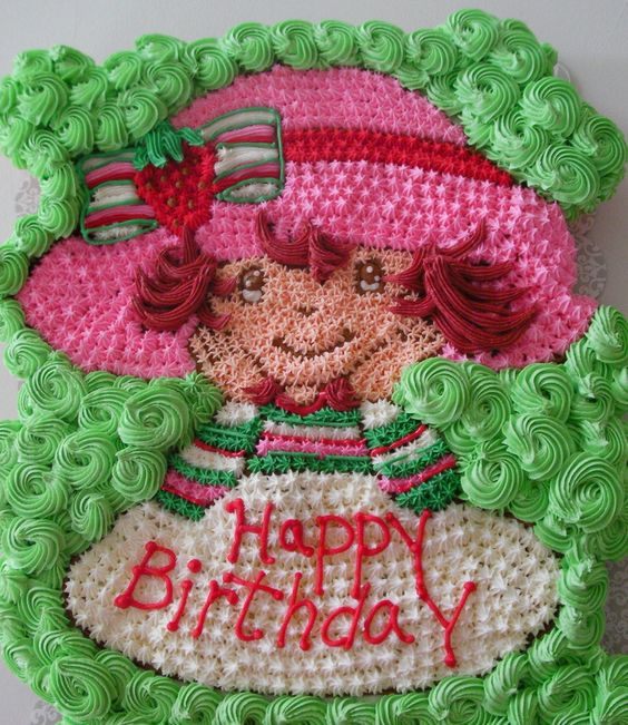 Strawberry Short Cupcake cake: