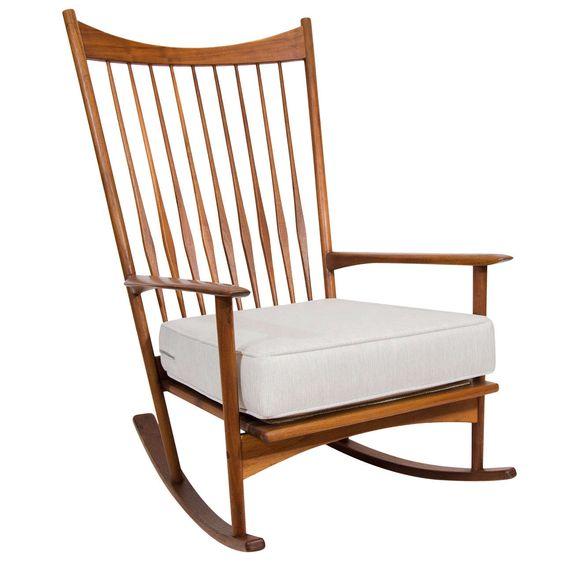 seating rocking modern rocking chairs rocking chair rocker olsen 1919 ...