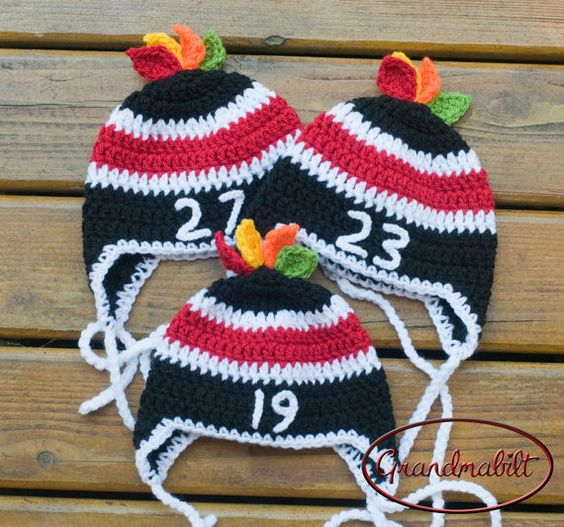 Customized for rpkeck Chicago Blackhawks Baby HOCKEY Hats