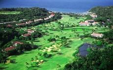 The Fairways & Bluewater Resort Boracay, Philippines is one of the more unique hotels in Boracay, as it lies in the middle of an 18 hole golf course. Guests will find themselves near such attractions as White Beach. The area also offers an array of outdoor activities as well as bat caves for exploration.