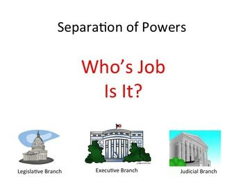 Worksheets Separation Of Powers Worksheet the ojays branches and worksheets on pinterest free worksheet based separation of powers principle review purpose