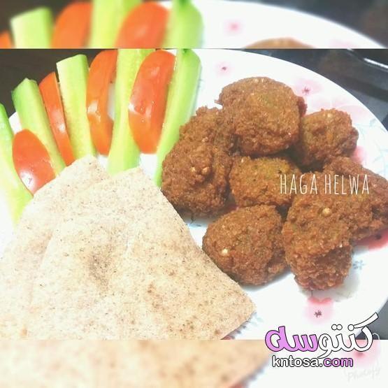 اسرار نجاح الطعمية سر طعمية المطاعم طريقة عمل الطعمية سر انتفاخ الفلافل تفريز الطعمية Kntosa Com 02 19 156 Food Beef Meat