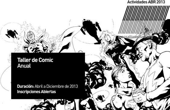 CONVOCATORIA - Actividad: Taller de Comic.| A cargo de: Eleonora Kortsarz y Luis Castro. | Convocatoria: Inscripciones abiertas. | Dirigido a: Adolecentes y Niños a partir de los 8 años. | Lugar: macsa - Museo de Arte Contemporáneo de Salta. Información: Ampliar - Clic Aquí. http://www.macsaltamuseo.org/press/comunica/013/abr/act/actividad013COMIC.pdf