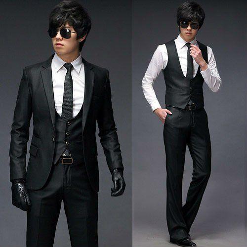 New Men Stylish Casual Slim Fit Vest Suits Vests Waistcoat