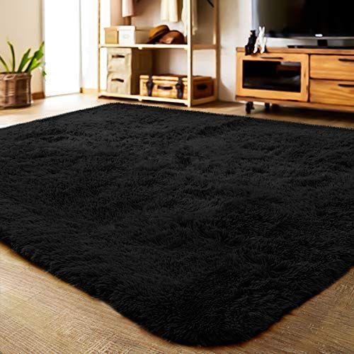 Lochas Ultra Soft Indoor Modern Area Rugs Fluffy Living R Https Www Amazon Com Dp B07b8cp9r5 Ref Cm Sw R Living Room Carpet Fluffy Rug Rugs In Living Room