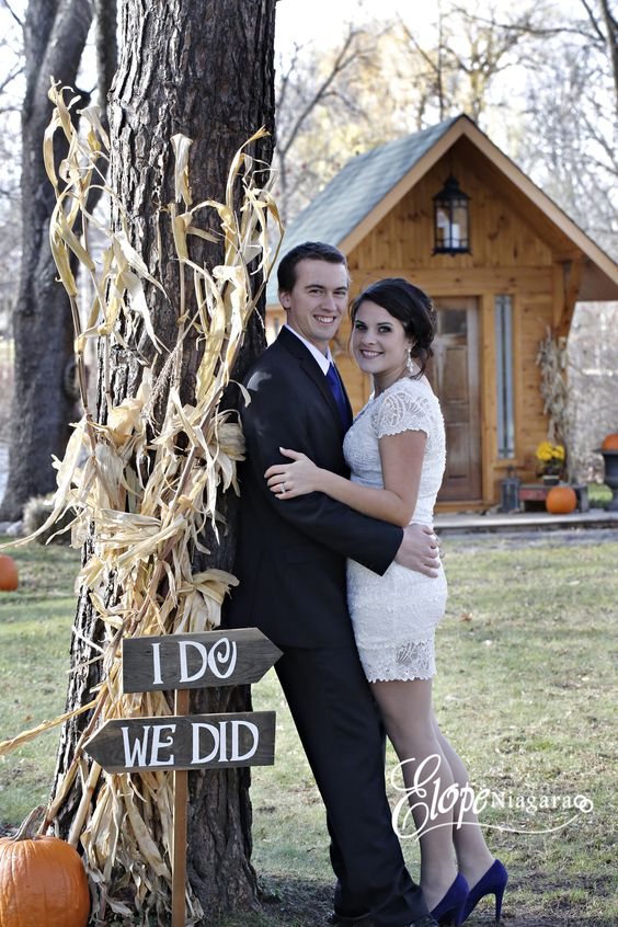 Rustic Wedding Chapel Elope Niagara 39 S Little Log Wedding
