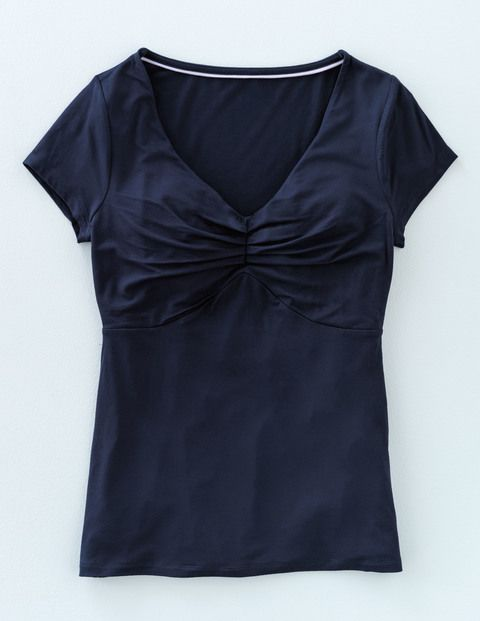 Cora Top WL862 Short Sleeved Tops at Boden
