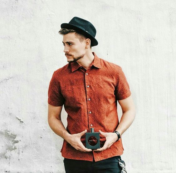 Pork pie hat chapéu masculino: