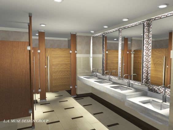 Public restroom design google search restrooms for Bathroom design restaurant