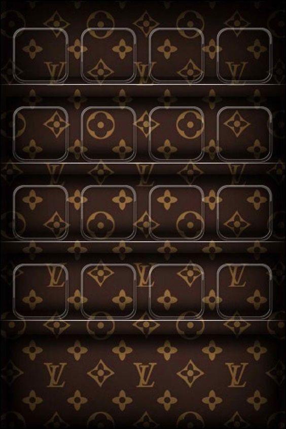 louis vuitton shelf iphone wallpaper iphone pinterest