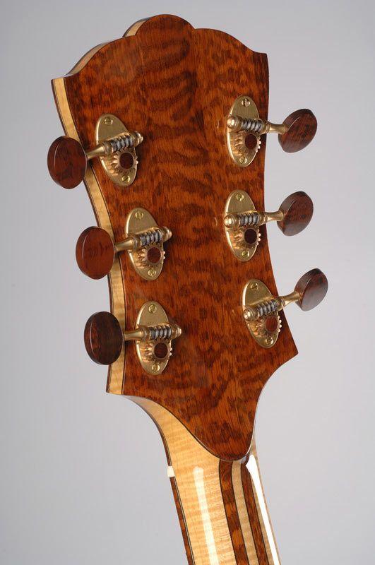 Mario Beauregard Guitar Builkder Luthier Montreal Canada Beauregard Guitars Guitar Tuners Guitar Tuner App Archtop Guitar