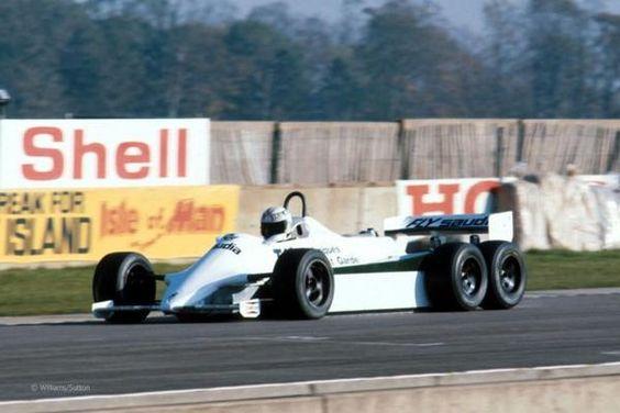 The Williams FW07D_resultat
