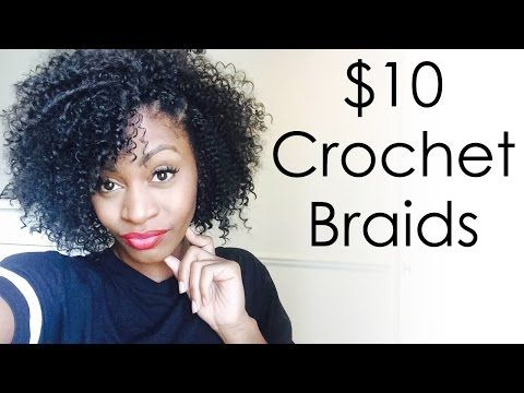 Crochet Curly Hair Youtube : how to take take care curly crochet braids wave hair crochet water ...
