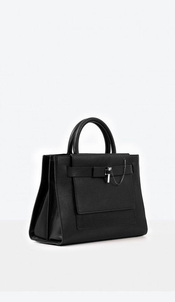 Carven - Medium leather bag