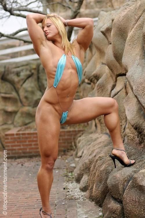 Fucking Frauen Bodybuilder Video