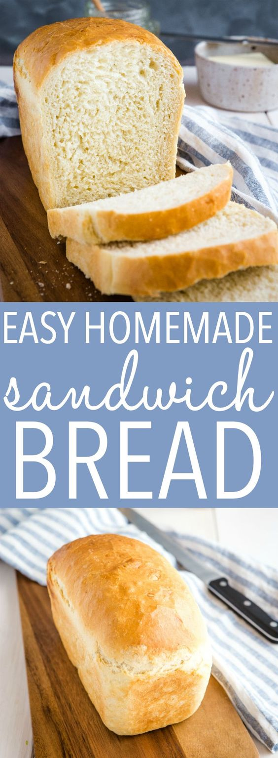 Homemade Sandwich Bread Recipe
