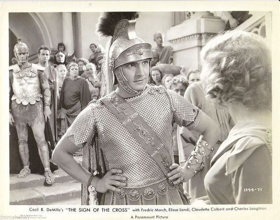 Fredric March Original Vintage 1932 THE Sign OF THE Cross Cecil B Demille Photo | eBay
