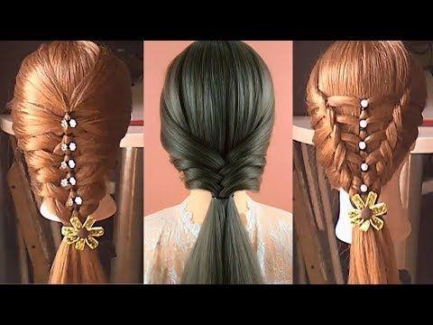 20 Peinados De Moda Peinados Faciles Y Rapidos Con Trenzas Peinados Cabello Youtube Long Hair Styles Dream Hair Hair Styles